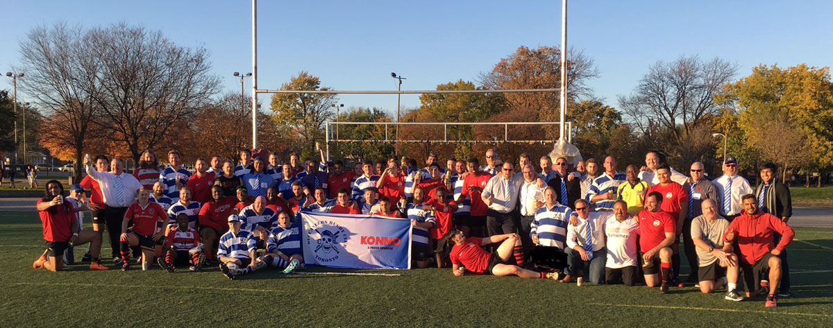 The Buccaneers and hosts Chicago Giffins RFC